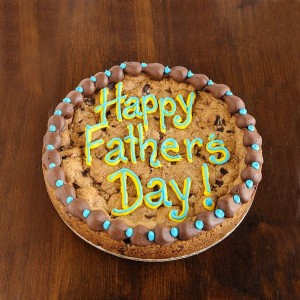 GIANT cookie? Guaranteed to make any dad happy!