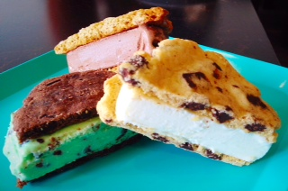 Summer might be over, but there's always a decadent Ice Cream Sandwich to be had!