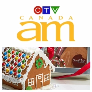 Join us for some festive fun as we join Canada AM to show Canada how to decorate the perfect Gingerbread House this season!